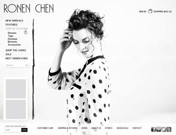 אתר המכירות אונליין לשוק האמריקאי של רונן חן
