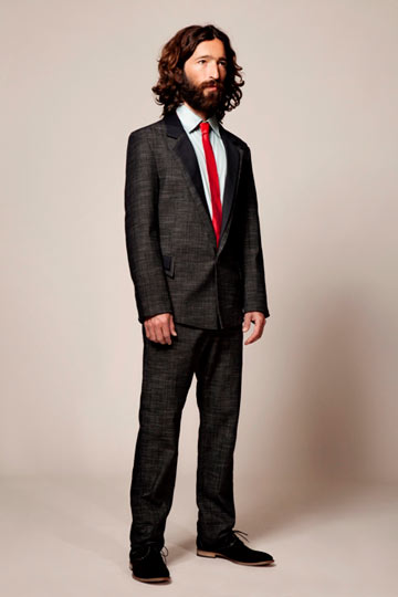 קולקציית בגדי הגברים של דורון אשכנזי (איור:  עמית ישראלי)