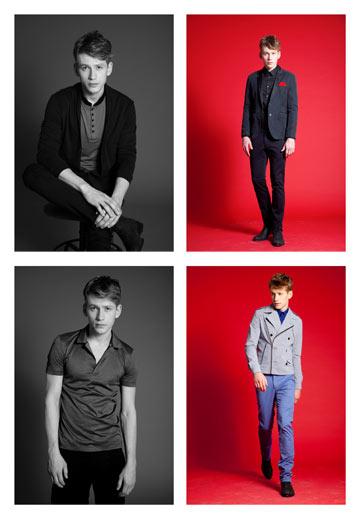 קולקציית בגדי הגברים של דיויד ששון (צילום: דודי חסון)