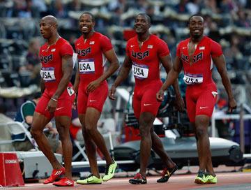 זה באמת צריך להיות כל כך צמוד? בגדי ריצה במשחקים האולימפיים (צילום: gettyimages)