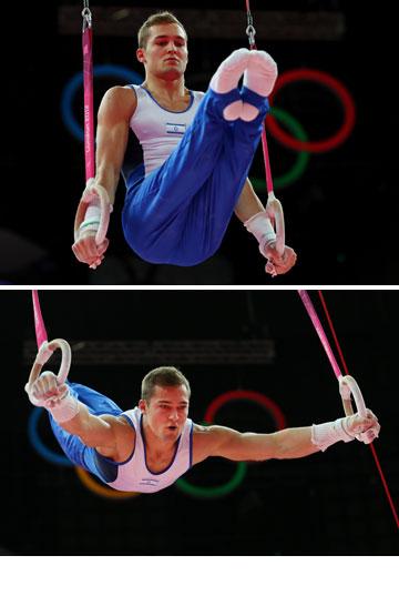 אלכס שטילוב. אחד הספורטאים הלוהטים באולימפיאדה (צילום: gettyimages)