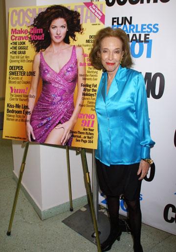 הלן גרלי בראון. ''היא היתה מודל לחיקוי עבור מיליוני נשים'', אמר מייקל בלומברג, ראש עיריית ניו יורק (צילום: gettyimages)