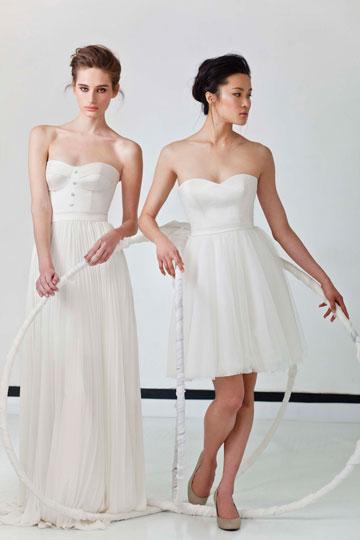שמלות כלה של לימור רוזן (צילום: גיא גלעד)
