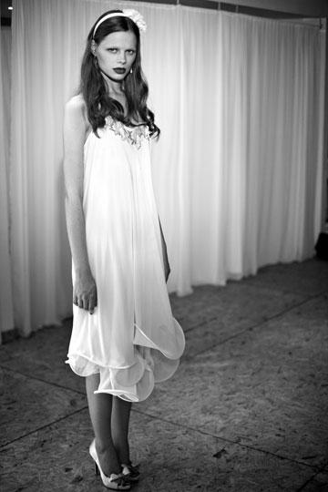 שמלת כלה של דפנה לוינסון (צילום: רונן פדידה)