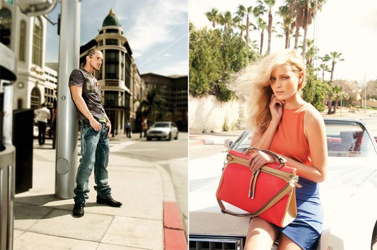 הקולקציות של בוניטה (מימין) וקרוקר. יזמים ומעצבים בתחום האופנה מדווחים על הורדת מחירים וניסיון לשרוד עונה נוספת (צילום: עידו לביא, גולי כהן)