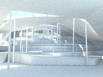 (הדמיה: rendering of the project of revin)