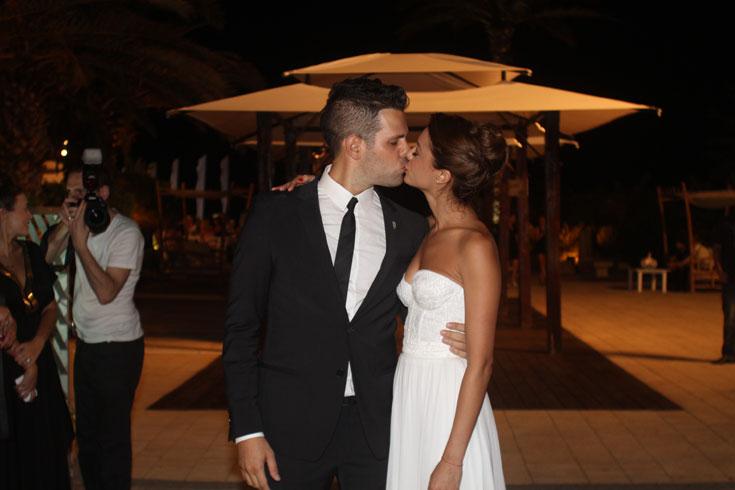 ימית סול בליל חתונתה השבוע (צילום: ג'קי יעקב)