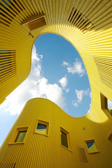 גן הילדים טלוס בשטוקהולם. מאוד לא שגרתי (צילום: Ake E:son Lindman)