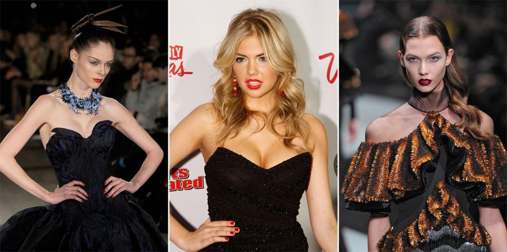 מימין: קרלי קלוס, קייט אפטון וקוקו רושה. מי תהיה המנחה החדשה של House of Style? (צילום: gettyimages)