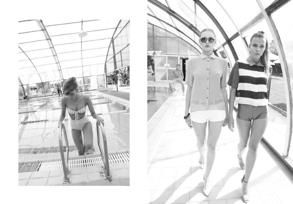 מימין: חולצה, לילמיסט; מכנסונים, אמריקן אפרל; נעליים, אלדו; חולצה מכופתרת, לילמיסט; מכנסונים, זארה; חגורה, לילמיסט; משקפי שמש, פראדה; נעליים, מאסימו דוטי; בגד ים, אמריקן אפרל (צילום: אייל זלצברג)