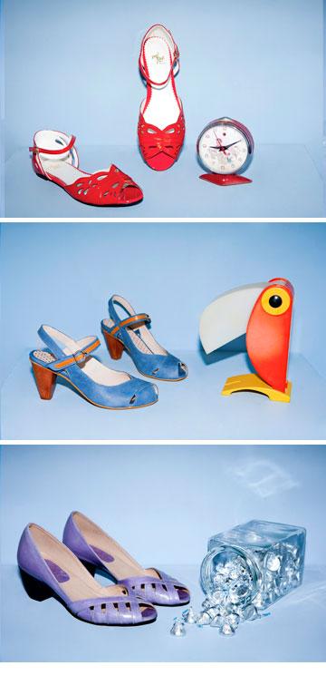 יריד זוגות. נעליים ותיקים של מגוון מעצבים מקומיים (צילום: ינאי יחיאל)