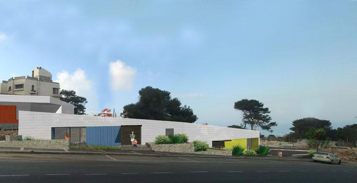 הגן המתוכנן בחיפה (צילום: so architecture, שחר לולב ועודד רוזנקיאר)