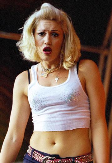 גוון סטפאני, 2000. חולצות בטן ועודף איפור (צילום: gettyimages)