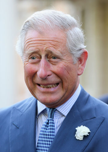 זה, אנחנו מניחים, הפרצוף שצ'ארלס עשה כשנחשפה הקלטת הלוהטת שלו. הנסיך צ'ארלס (צילום: gettyimages)