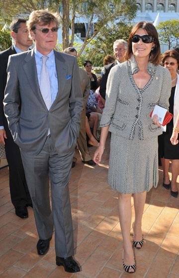 אאוץ'. הנסיכה קרוליין והנסיך ארנסט (צילום: gettyimages)