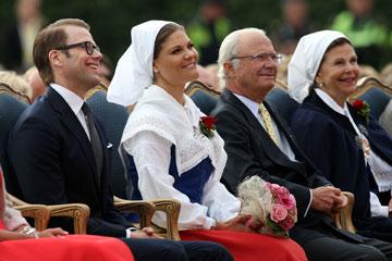 חובב נשים ידוע. המלך קארל גוסטאב (צילום: gettyimages)