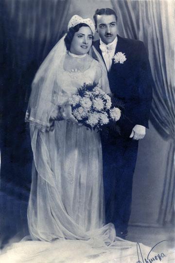 רבקה ויצחק סוזין, 1939, סופיה, בולגריה (צילום: רבקה ויצחק סוזין)