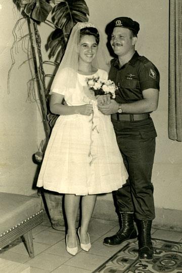 גיורא ודלית ענבר, 1962, ישראל (צילום: גיורא ודלית ענבר)