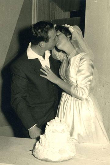 נירה ואיתי פרנקל, 1960, תל אביב (צילום: נירה ואיתי פרנקל)