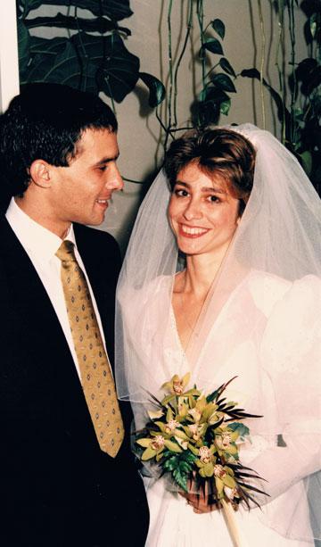 אורית ודניאל רביב, 1986, תל אביב (צילום: אורית ודניאל רביב)