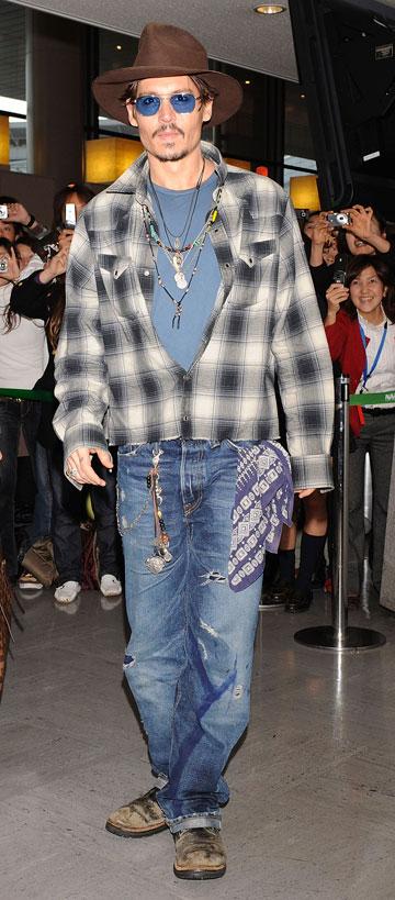 ג'וני דפ. יש שיגידו שהסגנון שלו די מציק בעיניים (צילום: gettyimages)
