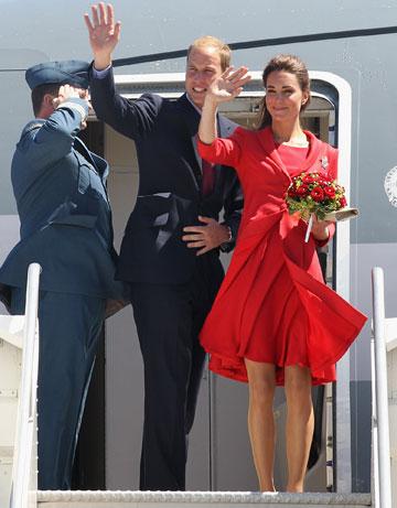 קייט מידלטון והנסיך וויליאם. עזבו אתכם מנוחות, הכי חשוב להיראות ייצוגיים (צילום: gettyimages)