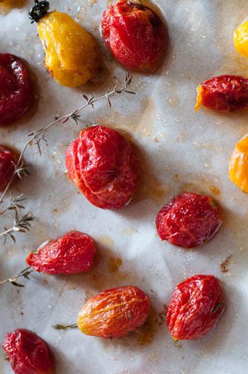 עגבניות שרי מיובשות (צילום: דן חיימוביץ')