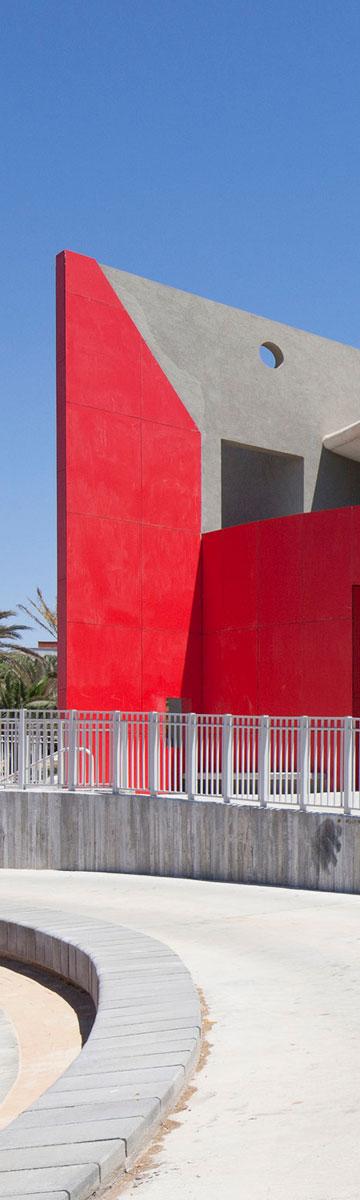 בית הספר החדש בשער הנגב. התפיסה החינוכית והאדריכלית משולבת יחדיו (צילום: אביעד בר נס)