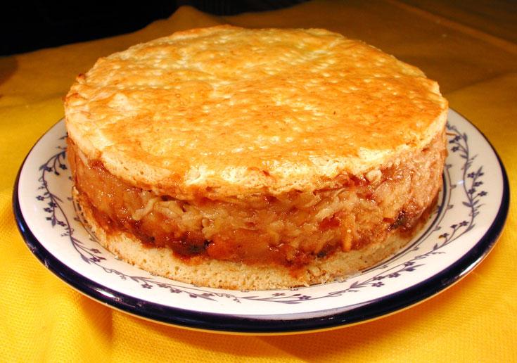 עוגת תפוחים (צילום: אסנת לסטר)
