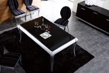 שולחן מלבני תופס פחות מקום