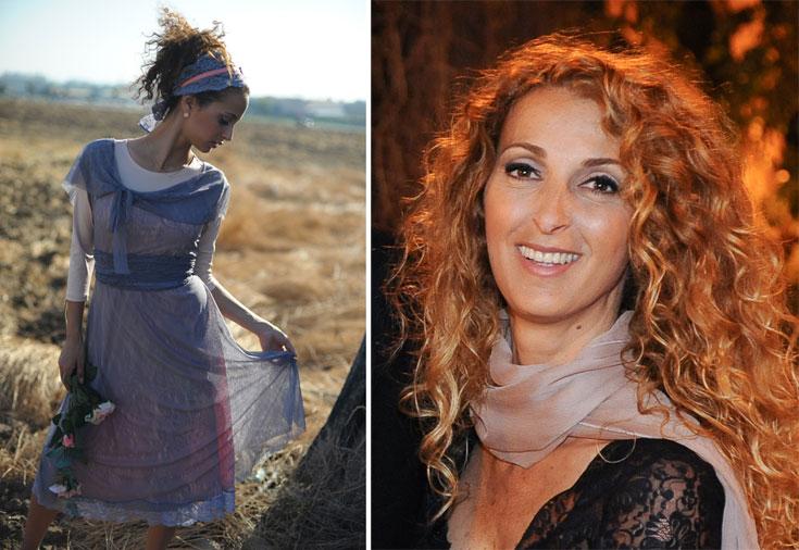 ג'ודי חן (מימין) ובגדים בעיצובה למותג ג'ודי. ''אין הבדלים בין אישה צעירה מבית אל, מרעננה או מקיבוץ לביא. כולן רוצות להתלבש יפה ולהיראות טוב'' (צילום: עינת אלון)