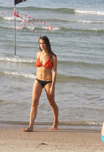מרינה מקסימיליאן בלומין בים, 2013 (צילום: מוטי לבטון, ynet)