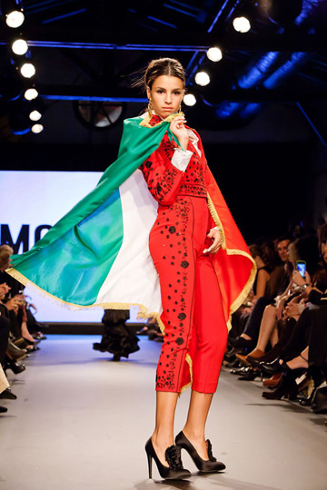 פתחו את שבוע האופנה TLV בשנה שעברה: התצוגה של מוסקינו (צילום: ענבל מרמרי)