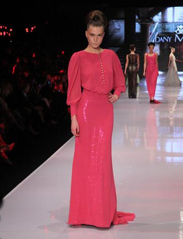 בשנה שעברה בשבוע האופנה גינדי תל אביב: התצוגה של דני מזרחי (צילום: טל ניסים)