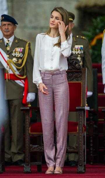 לא רק באגדות. הנסיכה לטיזיה מספרד  (צילום: gettyimages)