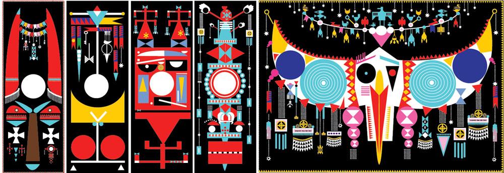 ישראל באומגרטנר מתעניין באופנה. כעולה חדש מברזיל, הוא החליט לעצב בעבודת יד סדרה קרנבלית של טליתות. התוצאה, גם אם לא תתקבל בברכה ברוב בתי הכנסת, מהפנטת