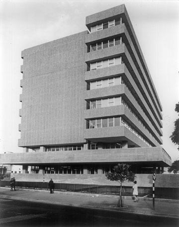 בית אגד בתל אביב (באדיבות נדלר, נדלר, ביקסון, גיל אדריכלים)