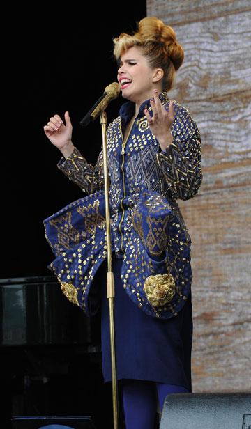 השוואות לליידי גאגא (צילום: gettyimages)