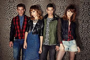 """""""כנערה תמיד חסכתי כדי לקנות לעצמי בקסטרו"""". גדות בקמפיין אופנה (צילום: גורן ליובונציץ')"""