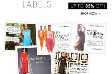 בגדי מעצבים מוזלים. theoutnet (מתוך:  theoutnet.com)