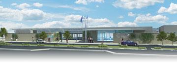 התחנה המשודרגת אמורה להיפתח בסוף 2014. ועדיין היא תהיה פרוורית בלבד (הדמיה: קנפו כלימור אדריכלים)
