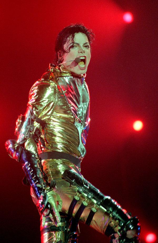 פארק שעשועים וגן חיות. ג'קסון בהופעה, 1996 (צילום: gettyimages)