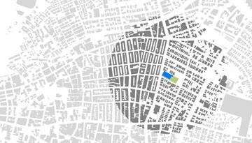 כאן הוא יוקם: בין הרחובות העלייה וצ'לנוב (תכנית: : ציונוב- ויתקון אדריכלים)