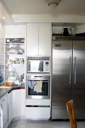 אזור המקרר, ''לפני''. סגנון שנות ה-80