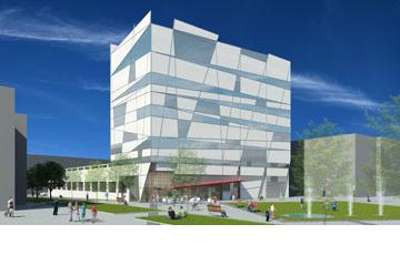 ההצעה של מילנר אדריכלים (באדיבות דוברות עיריית תל אביב)