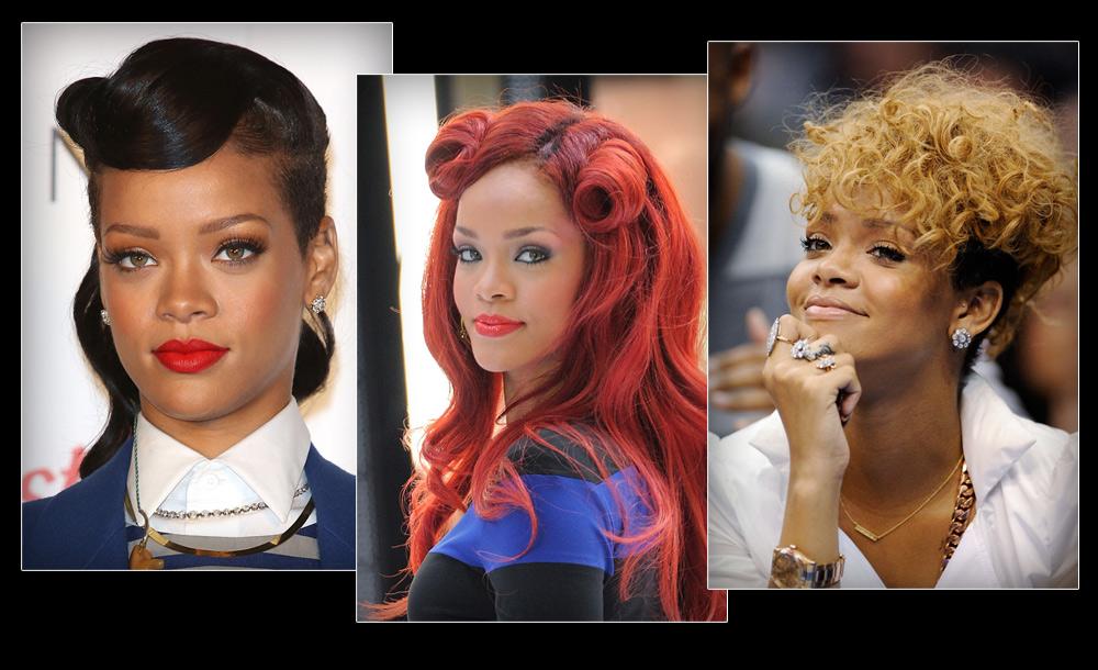 כמו בשנות כלב - שנת שיער אחת של ריהאנה היא כמו 7 אצל הבחורה הממוצעת (צילום: gettyimages)