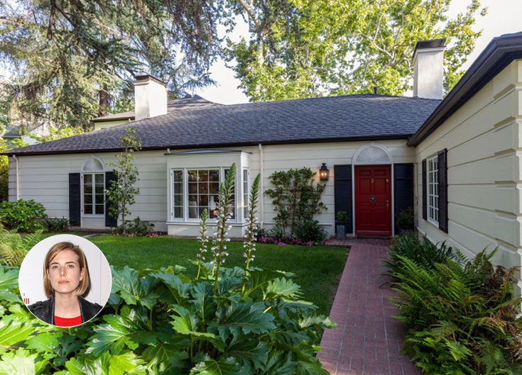 הבית הצנוע של אגנס דין בהוליווד הילס (צילום: splashnews/asap creative, gettyimages)