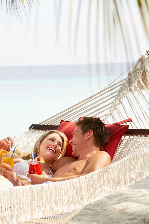 ככה, למשל, החופשה הזוגית שלכם ממש לא תיראה (צילום: shutterstock)