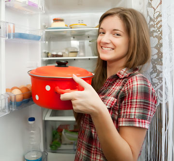 אחרי יום-יומיים במקרר הקדירה תהיה טעימה יותר (צילום: shutterstock)