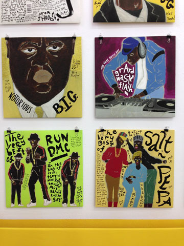 עטיפות אלבומי היפ-הופ. נגה פרידמן, בצלאל (צילום: איתי כ''ץ)
